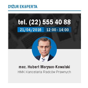 HMK Hubert Moryson Kowalski Expert Prawo